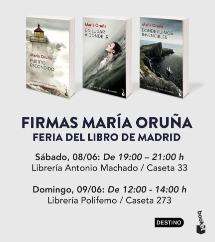 Firma María Oruña